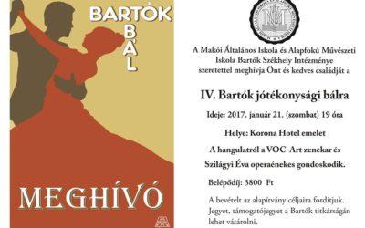 VI. Bartók jótékonysági bál